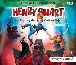Henry Smart - Im Auftrag des Götterchefs, 4 Audio-CDs