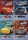 Disney Cars 3: Malspaß, 4 Hefte