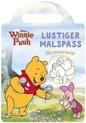 Disney Winnie Puuh: Lustiger Malspaß für unterwegs