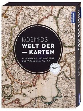 KOSMOS Welt der Karten - Historische und moderne Kartografie im Dialog