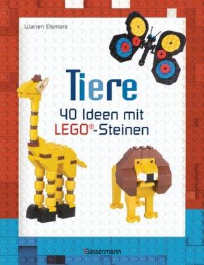 Tiere - 40 Ideen mit LEGO®-Steinen