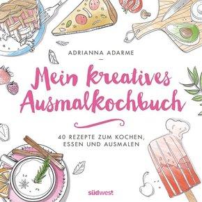 Mein kreatives Ausmalkochbuch