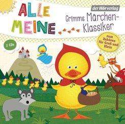 Alle meine Grimms Märchenklassiker, 2 Audio-CDs