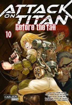Attack on Titan - Before the Fall - Bd.10