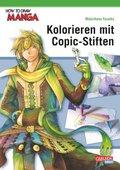 Kolorieren mit Copic-Stiften - How To Draw Manga