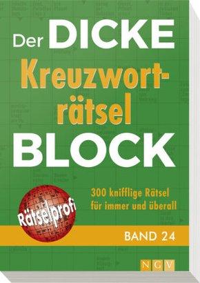 Der dicke Kreuzworträtsel-Block - Bd.24
