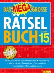 Das megagroße Rätselbuch - Bd.15
