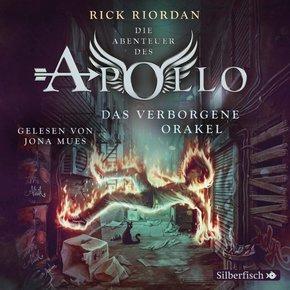 Die Abenteuer des Apollo - Das verborgene Orakel, 5 Audio-CDs