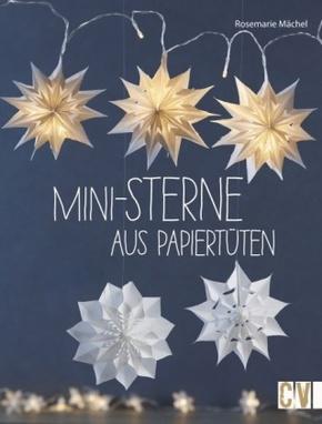 Mini-Sterne aus Papiertüten