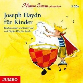 Joseph Haydn für Kinder, 2 Audio-CDs