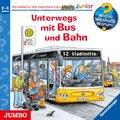 Unterwegs mit Bus und Bahn, 1 Audio-CD - Wieso? Weshalb? Warum?, Junior .63