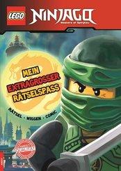LEGO® NINJAGO™, Masters of Spinjitzu - Mein extragroßer Rätselspaß
