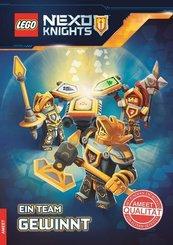 LEGO® Nexo Knights - Ein Team gewinnt, Lesebuch