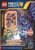 """LEGO Nexo Knights - Ritter gegen Steinjäger (Mit Minifigur """"Wasserspeier"""")"""