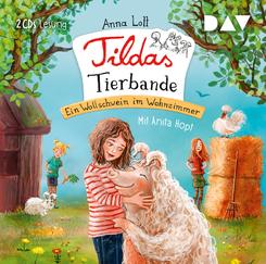 Tildas Tierbande - Ein Wollschwein im Wohnzimmer, 2 Audio-CDs