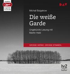 Die weiße Garde, 2 Audio- CD, MP3