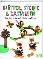 Blätter, Steine & Kastanien