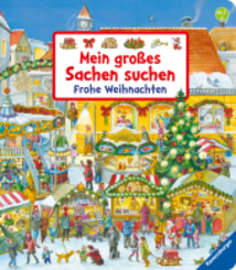 Mein großes Sachen suchen: Frohe Weihnachten