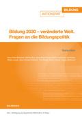 Bildung 2030 - veränderte Welt