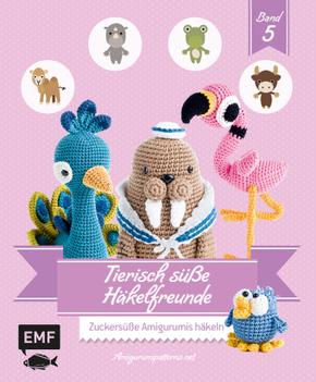 Tierisch süße Häkelfreunde - Bd.5