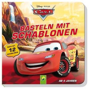Cars Basteln mit Schablonen