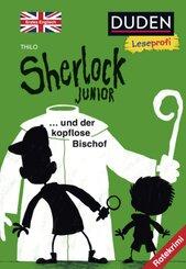 Sherlock Junior und der kopflose Bischof, Erstes Englisch
