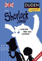 Sherlock Junior und der Bär von London, Erstes Englisch