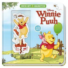 Disney Winnie Puuh, m. 15 Bild-Magneten