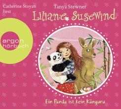 Liliane Susewind - Ein Panda ist kein Känguru, 2 Audio-CD
