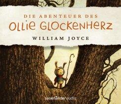 Die Abenteuer des Ollie Glockenherz, 4 Audio-CD