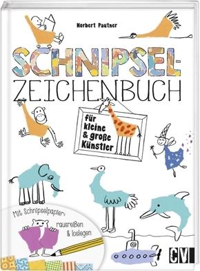 Schnipsel-Zeichenbuch für kleine und große Künstler