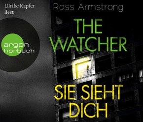 The Watcher - Sie sieht dich, 6 Audio-CD