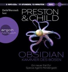 Obsidian - Kammer des Bösen, 2 Audio-CD, MP3