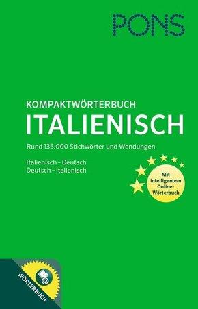 PONS Kompaktwörterbuch Italienisch, m. Online-Wörterbuch