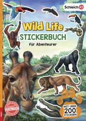 Schleich Wild Life - Stickerbuch für Abenteurer