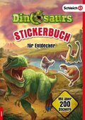 Schleich Dinosaurs Stickerbuch für Entdecker