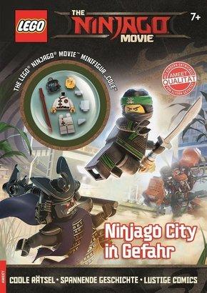 LEGO® The NINJAGO™ Movie - NINJAGO™ City in Gefahr (Mit Minifigur Cole)