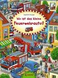 Wo ist das kleine Feuerwehrauto?