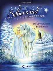 Silberwind, das weiße Einhorn (Band 5) - Die verwunschene Eisprinzessin