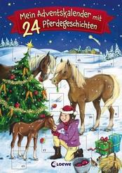 Mein Adventskalender mit 24 Pferdegeschichten