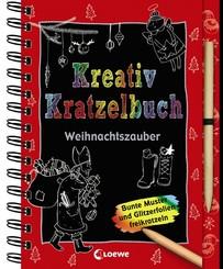 Kreativ-Kratzelbuch: Weihnachtszauber