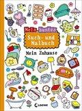 Mein buntes Such- und Malbuch: Mein Zuhause