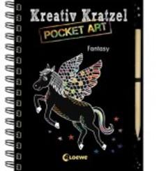 Kreativ-Kratzel Pocket Art - Fantasy