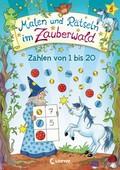 Malen und Rätseln im Zauberwald - Zahlen von 1 bis 20