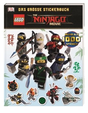 The LEGO Ninjago Movie, Das große Stickerbuch