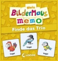 Mein Bildermaus-Memo - Finde das Trio (Kinderspiel)