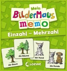 Mein Bildermaus-Memo - Einzahl - Mehrzahl (Kinderspiel)