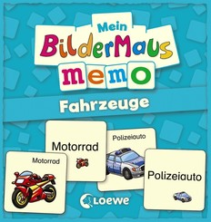 Mein Bildermaus-Memo - Fahrzeuge (Kinderspiel)