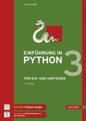 Einführung in Python 3, m. 1 Buch, m. 1 E-Book