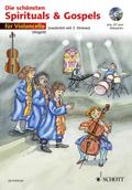 Die schönsten Spirituals & Gospels, 1-2 Violoncelli, m. Audio-CD